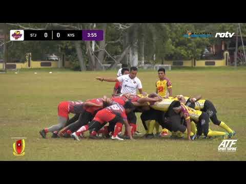 Malaysia Super School Rugby 15s - SM Sains Tuanku Jaafar vs Kolej Yayasan Saad