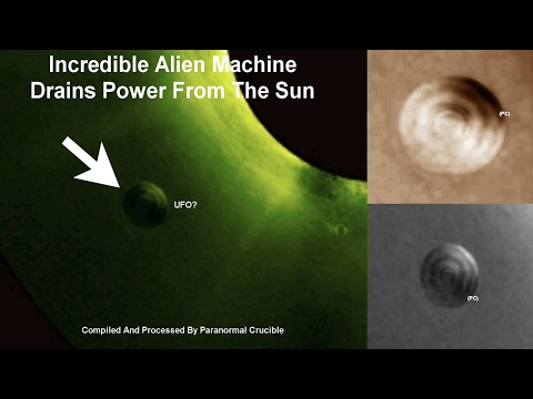 Giant Alien Machine Drains Power From The Sun?