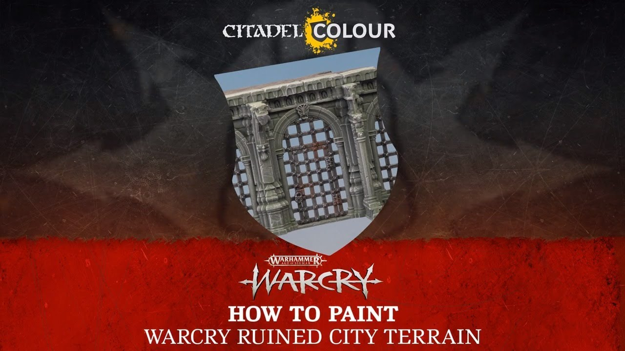 How to Paint: Warcry Ruined City Terrain