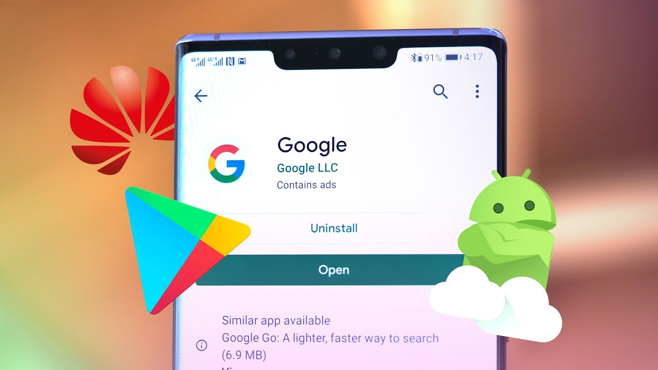 Huawei Mate 30 Pro: How to install Google Apps! [Play Store + Play Services + GMS]  #Smartphone #Android