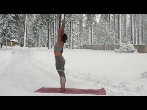 beginner yoga sun salutation a yoga flow  youtube