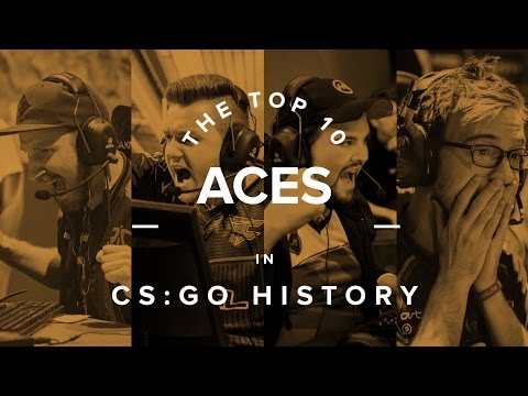 The Top 10 Aces in CS:GO History