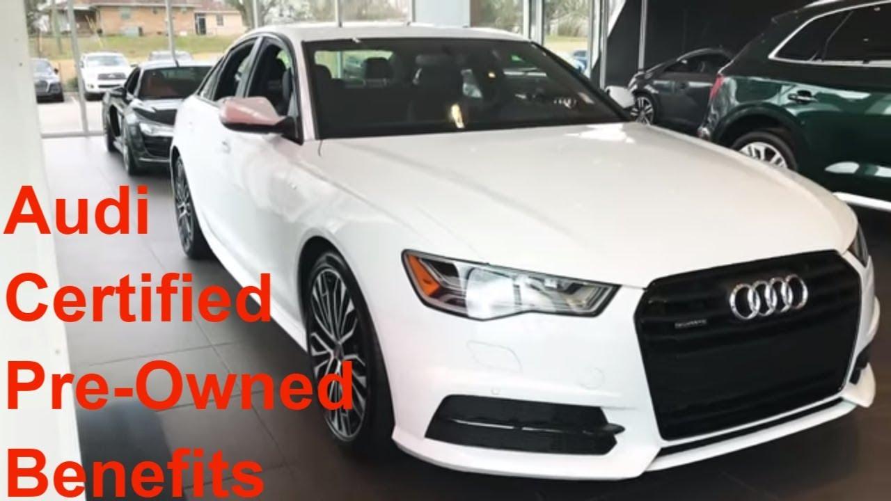 Audi Certified PreOwned Benefits Summary Audi Huntsville YouTube - Audi huntsville