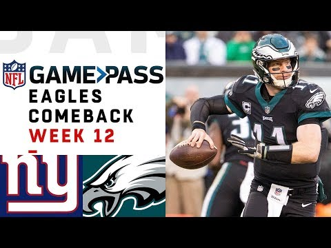 Every Play from Eagles Comeback vs. Giants | NFL Condensed Game