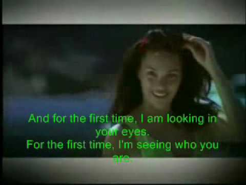FOR THE FIRST TIME - KC CONCEPCION (Music Video) with lyrics