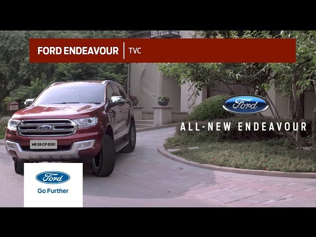 2019 Ford Endeavour Off Road, Ford Endeavour price In India