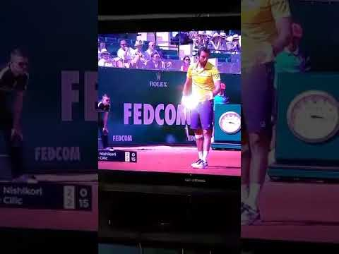 Nishikori - Cilic nervous tense at match - 20/04/2018