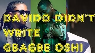 Davido Buys A Song (Gbagbe Oshi) From General Pype Story