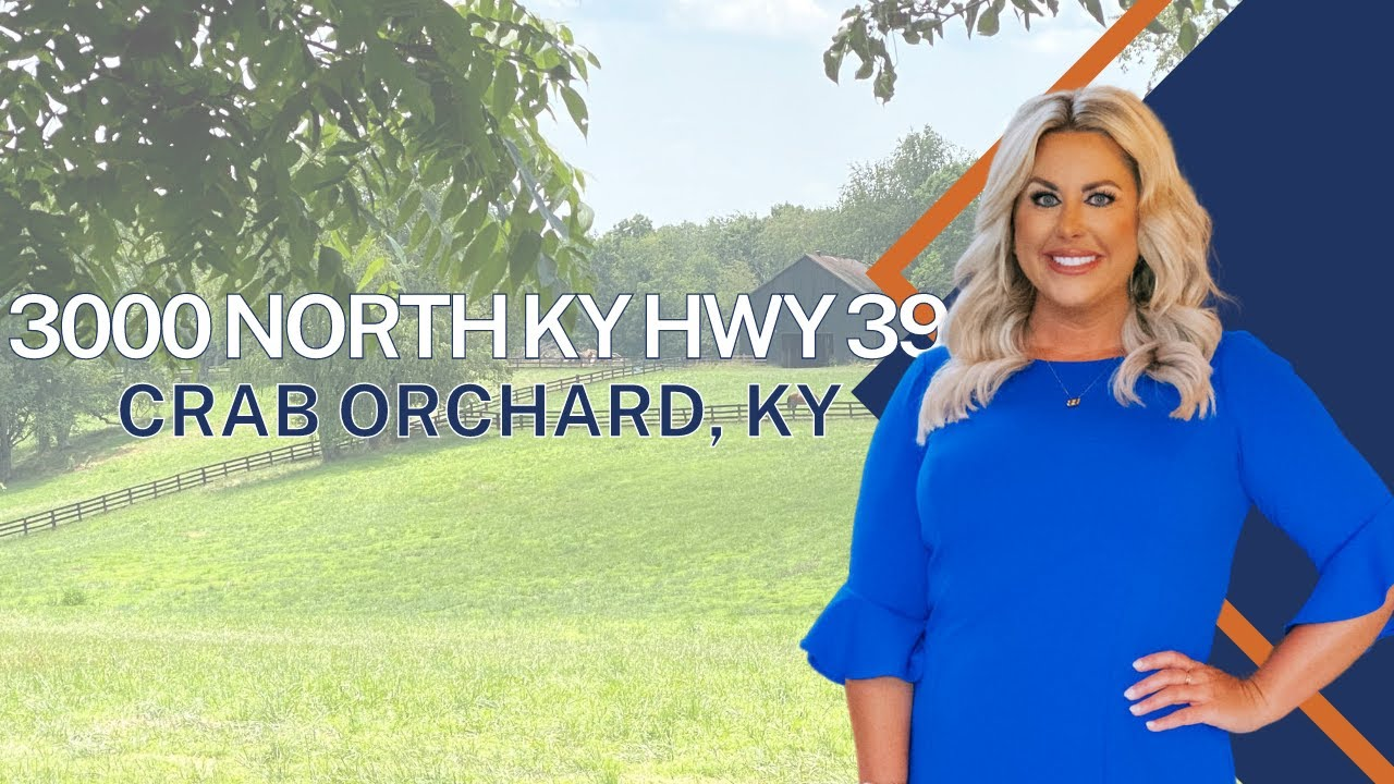 90 Acres & TWO Homes... 3000 North KY HWY 39, Crab Orchard, KY 40419