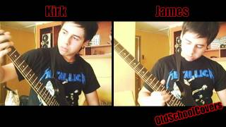 MetallicA - Master Of Puppets Interlude Solos Cover (BOTH GUITARS)