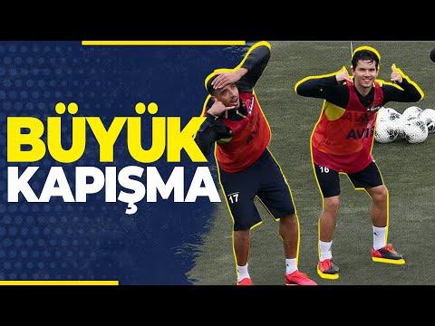 Ayak Tenisi'nde Büyük Kapışma 😂 (Emre Belözoğlu, Vedat Muriqi, Ozan Tufan, Nabil Dirar)