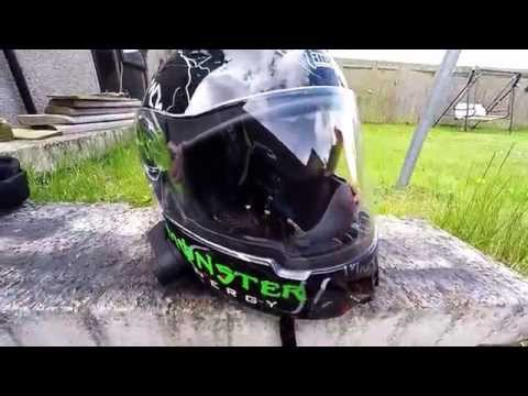 MONSTER ENERGY HELMET REVIEW PURCHASED FROM EBAY
