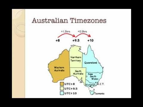 U7L3V1 Timezones   Australia
