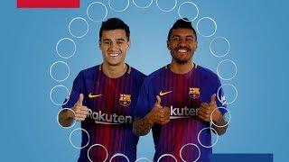 BARÇA EMOJIS | Coutinho & Paulinho