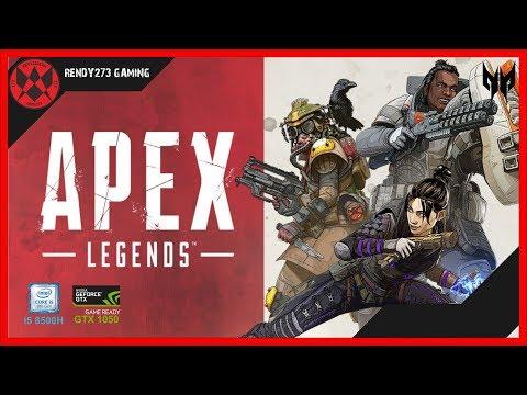Apex Legends on GTX 1050 - i5 8300H - 8GB RAM [Acer Nitro 5]