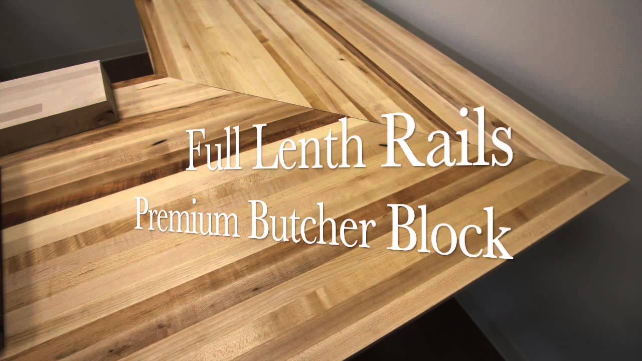 Butcher Block Counter Top Youtube