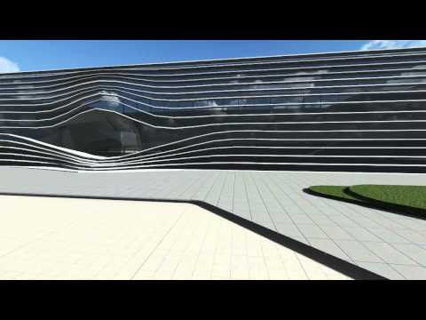youth and civic center - design project