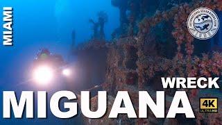 Miguana Tec Wreck Scuba Dive | 1 of 3 Miami Tek Wreck Trek, Florida