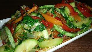 Кабачки по - корейски! Салат вкуснятина, несложный и доступный каждому.