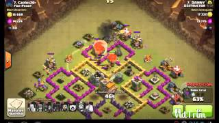 Clash Of Clan- Atacaque Glogi......aldea Pekke