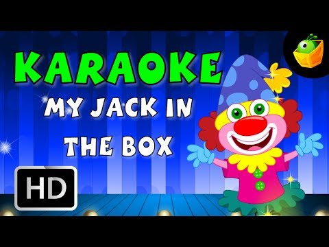 My Jack In The Box - Karaoke Version With Lyrics - Cartoon/Animated English Nursery Rhymes For Kids