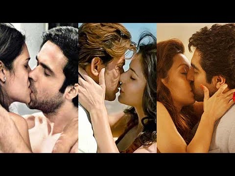 Bollywood Top 50 Kissing Scenes | Hot Seducing Kisses | Famous Bollywood Lip Locks | Hot Smooches
