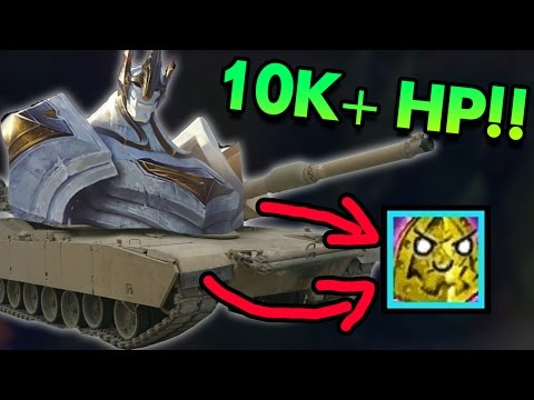 10K+ HP LITERALLY UNKILLABLE LATE GAME WITH NEW ITEMS!?! FULL TANK GALIO TOP - PBE League of Legends