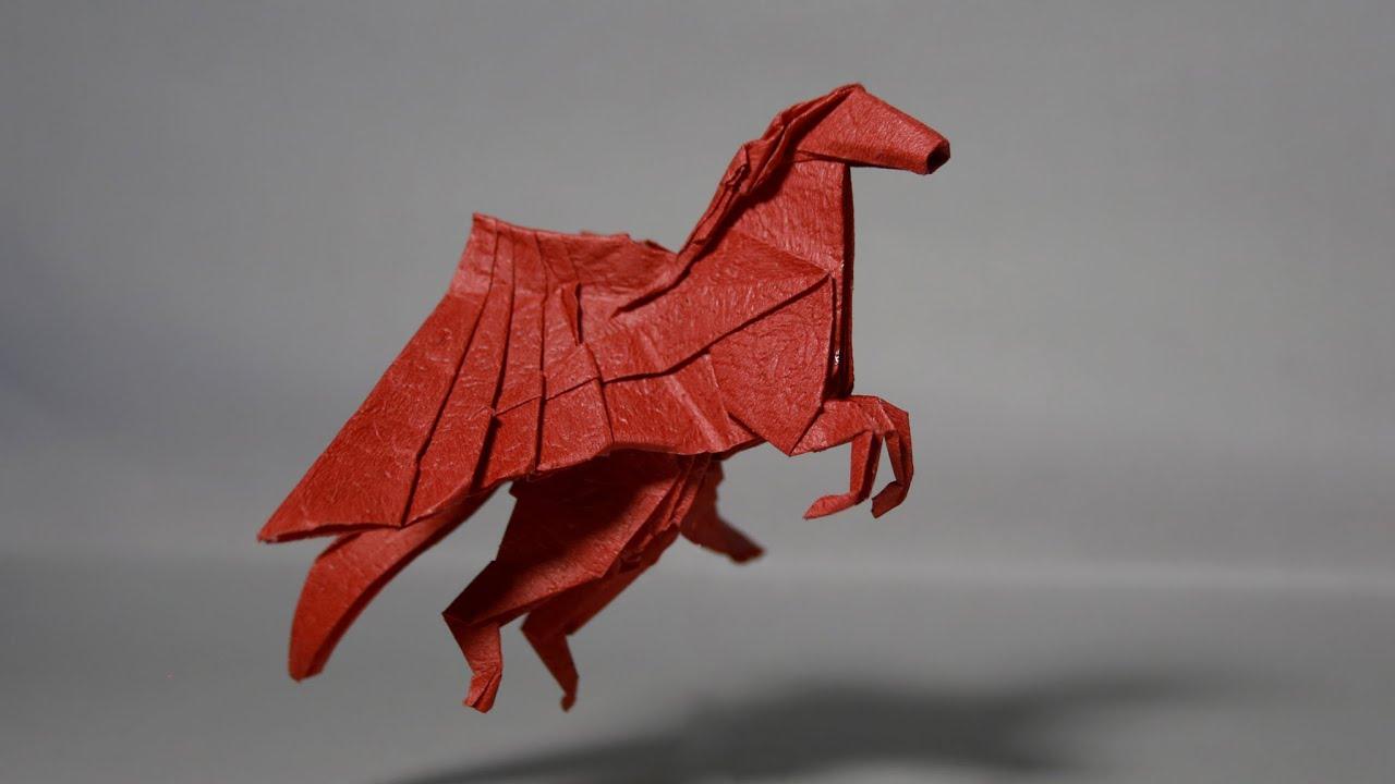 Origami Pegasus Tutorial Henry Phm Youtube