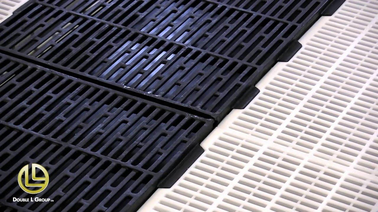 IVP Farrowing Floor (Cast Iron And Plastic Creep Slat Swine Floor System)    YouTube