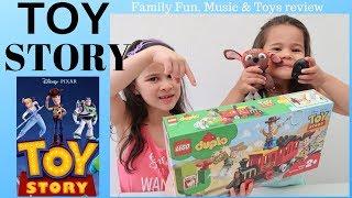 LEGO Duplo TOY STORY TRAIN | Toy Unboxing
