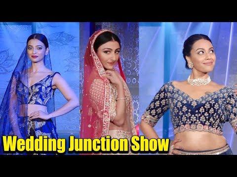 Radhika Apte, Swara Bhaskar & Soha Ali Khan LOOKS GORGEOUS in Bridal wear at Wedding Junction Show