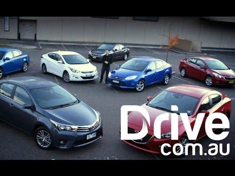 What Small Sedan Should You Buy 7 Car Comparison 2014 Drive.com.au