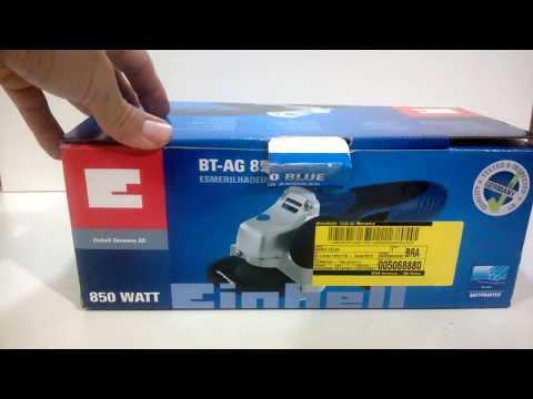 #14 Reviews Esmerilhadeira Angular Einhell BT-AG 850 Blue
