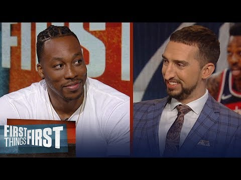 Dwight Howard on Kevin Durants injury in Game 5, talks LeBron and Lakers | NBA | FIRST THINGS FIRST