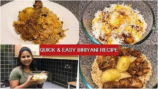 Easy Homemade Chicken Biriyani | Simple Chicken Biriyani Recipe | Indian Vlogger
