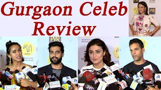 Gurgaon Celeb Movie Review: Watch here | FilmiBeat