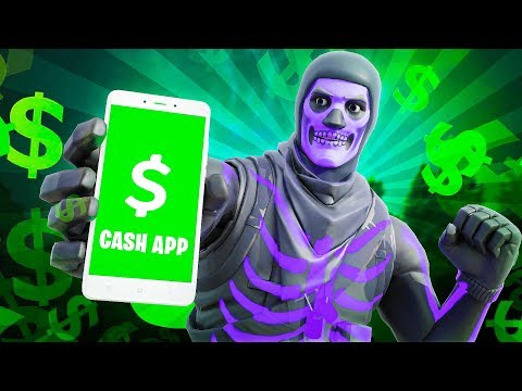 I Put My CASH APP In My Fortnite Name And Made This Much...