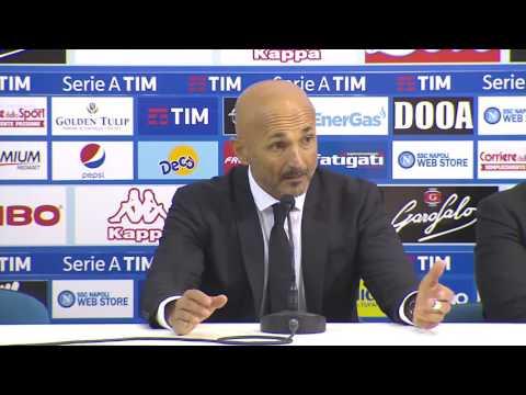 """Spalletti in conferenza post Napoli: """"Abbiamo vinto sotto l'aspetto della qualità di gioco"""""""