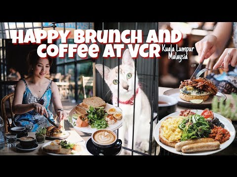 Vlog Myfunfoodiary: Brunch & Good Coffee at VCR Coffee & Cakes Malaysia