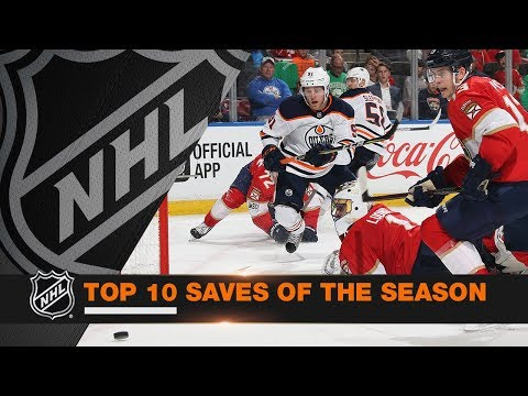 Top 10 Saves of the 2017-18 Regular Season