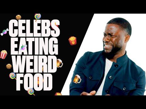 Celebs Try International Snacks ft Kevin Hart, Ryan Reynolds and Aaron Paul | Snack Wars | LADbible