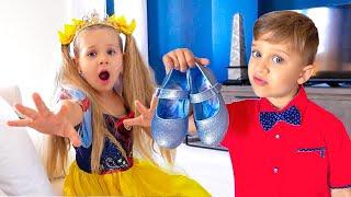 Diana and Roma - Surprise for Cinderella Princess