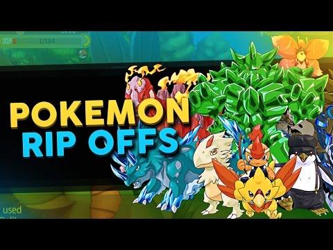 Top 5 Pokemon Mobile Rip Offs / Knock Offs