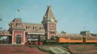 Disneyland railroad 1976 Narraration Bear Country