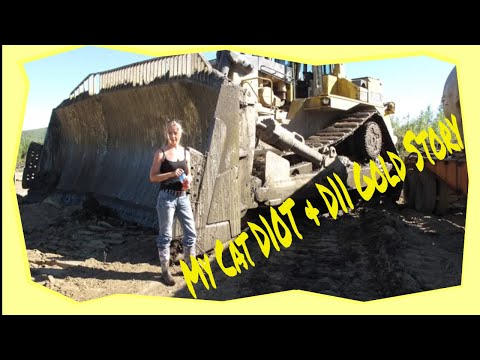 Gold Mining With A Cat D10T!!!