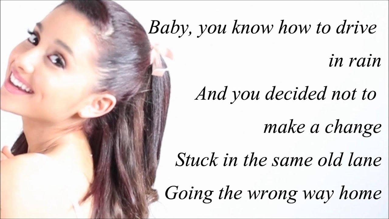 Ariana Grande - Honeymoon Avenue (with Lyrics) - YouTube