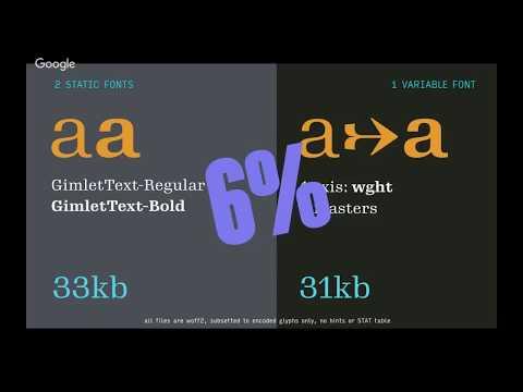 Making and Using Variable Web Fonts | David Jonathan Ross