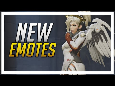 Overwatch - All New Emotes and first Legendary Emote!