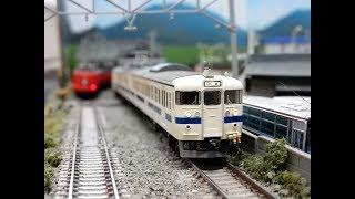 【Nゲージ鉄道模型】TOMIX415系100番台九州色 自宅レイアウト運転会