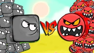 - RED BALL 4 TURNED INTO A BLACK SQUARE Complete game Adventure INTO THE CAVE with BOSS fights cids